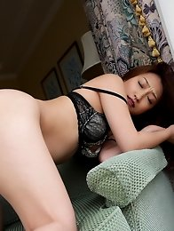 Sexy and nude Japanese av idol Kokomi Saeki loves to have sex